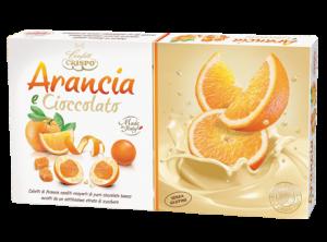 Confetti Crispo senza glutine arancia e cioccolato