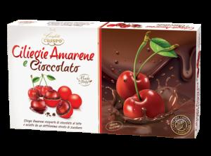 Confetti senza glutine al gusto di ciliegie, amarene e cioccolato