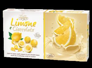 Confetti senza glutine al limone e cioccolato
