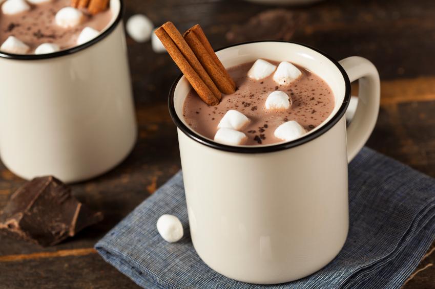 Ricetta cioccolata calda alla cannella
