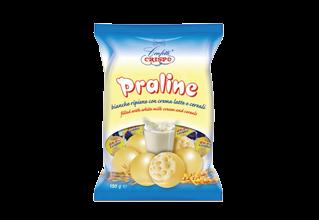 Praline Crema Latte e Cereali 150g