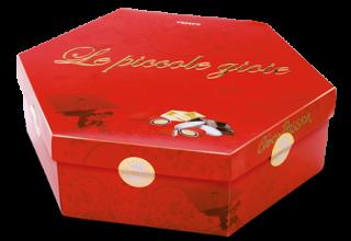 Confetti rossi al cioccolato