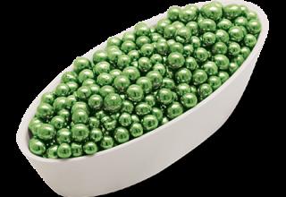 Confetti di colore verde utili per le decorazioni