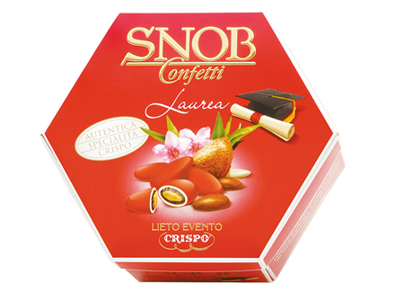 Sugared Almonds Degree - Confetti Crispo Special Red