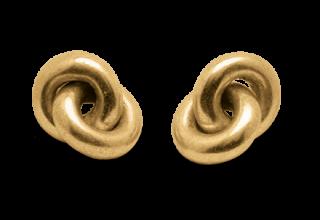 Anelli di confetti color oro