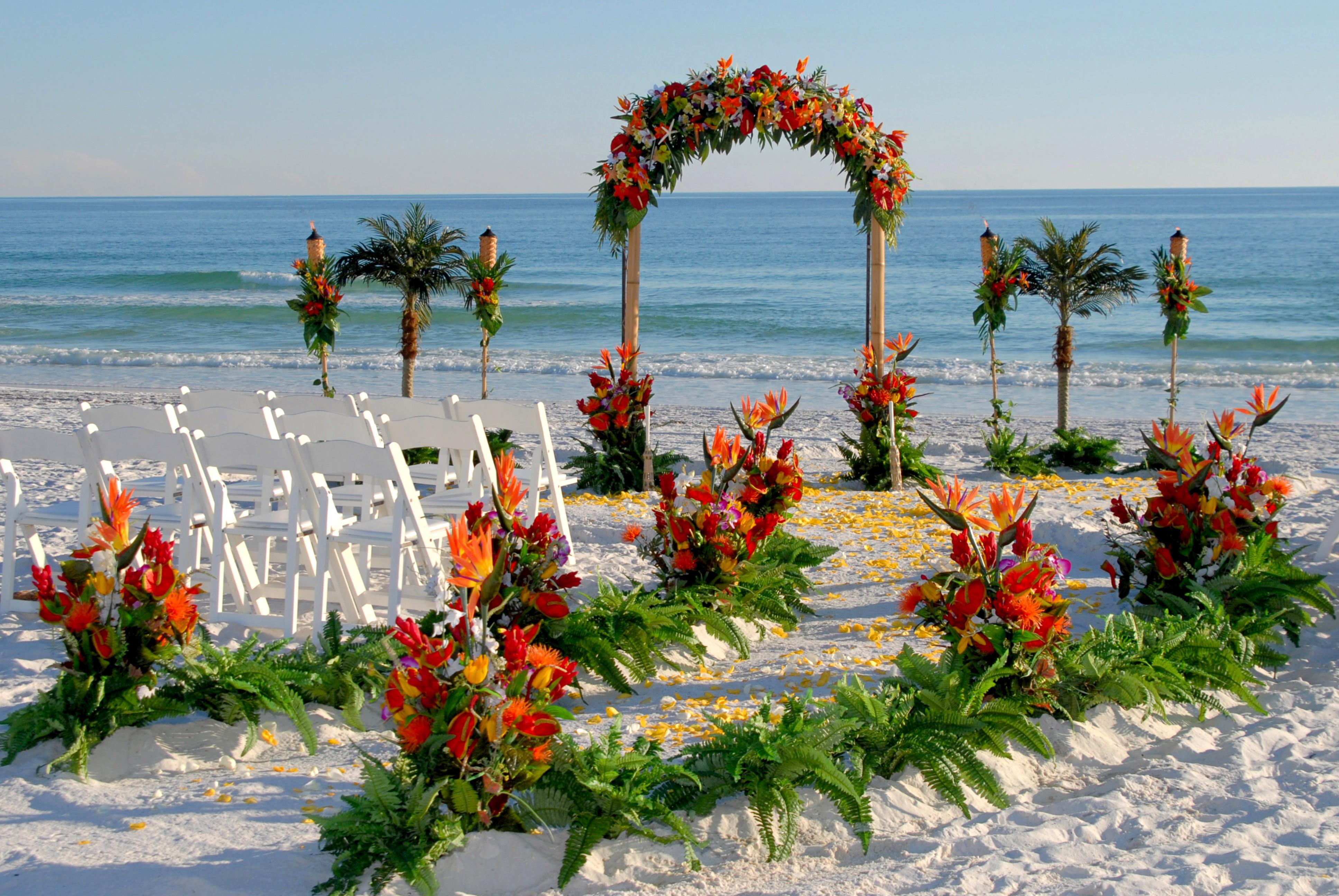 Matrimonio in spiaggia: come organizzarlo in ogni singolo dettaglio