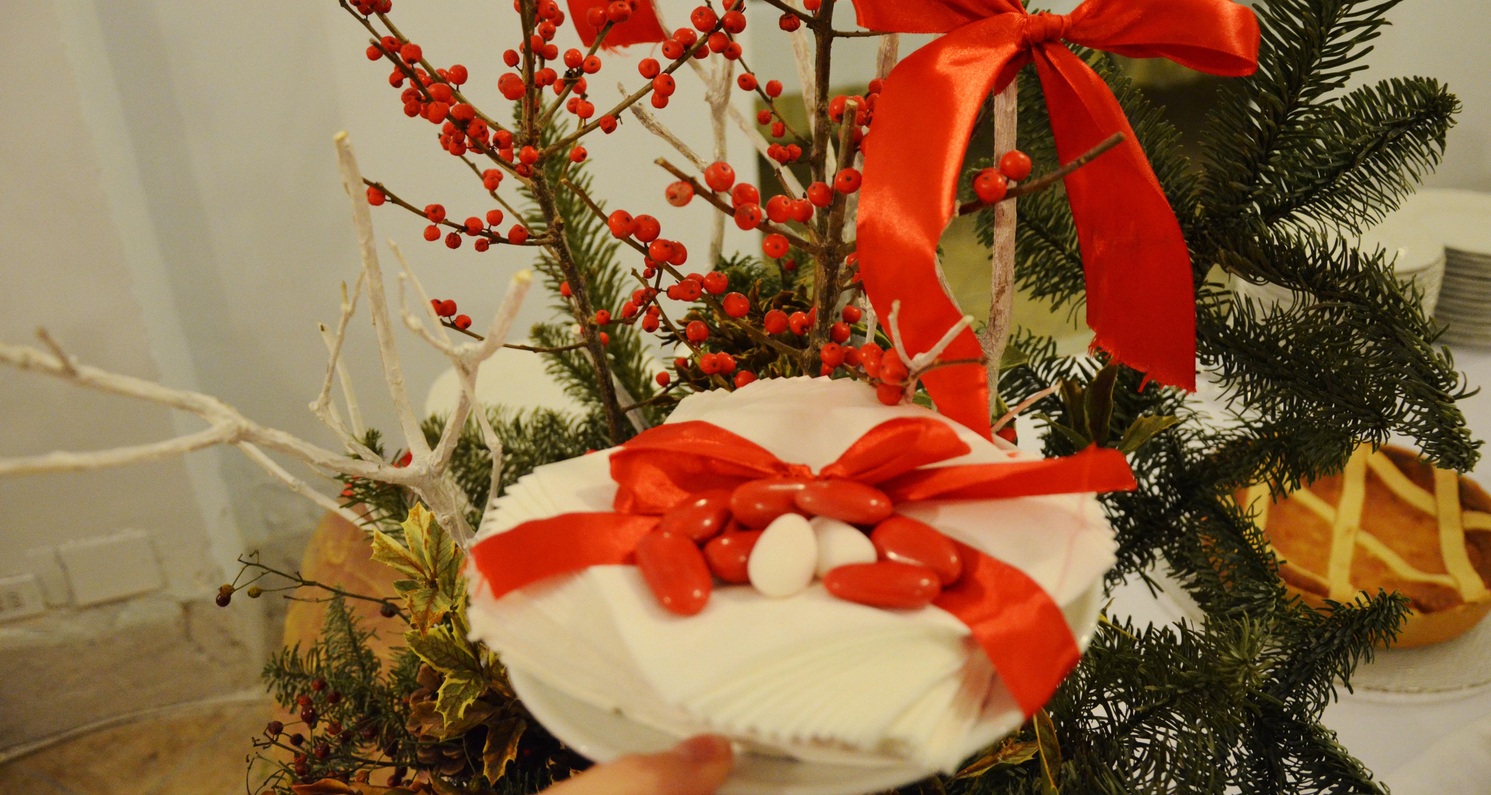 Un dolce pensiero per i tuoi ospiti: offri un confetto per Natale!
