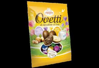 Ovetti di cioccolato a latte Pasqua Crispo