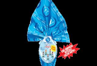 Uova calcio Napoli con sorpresa ufficiale - Crispo