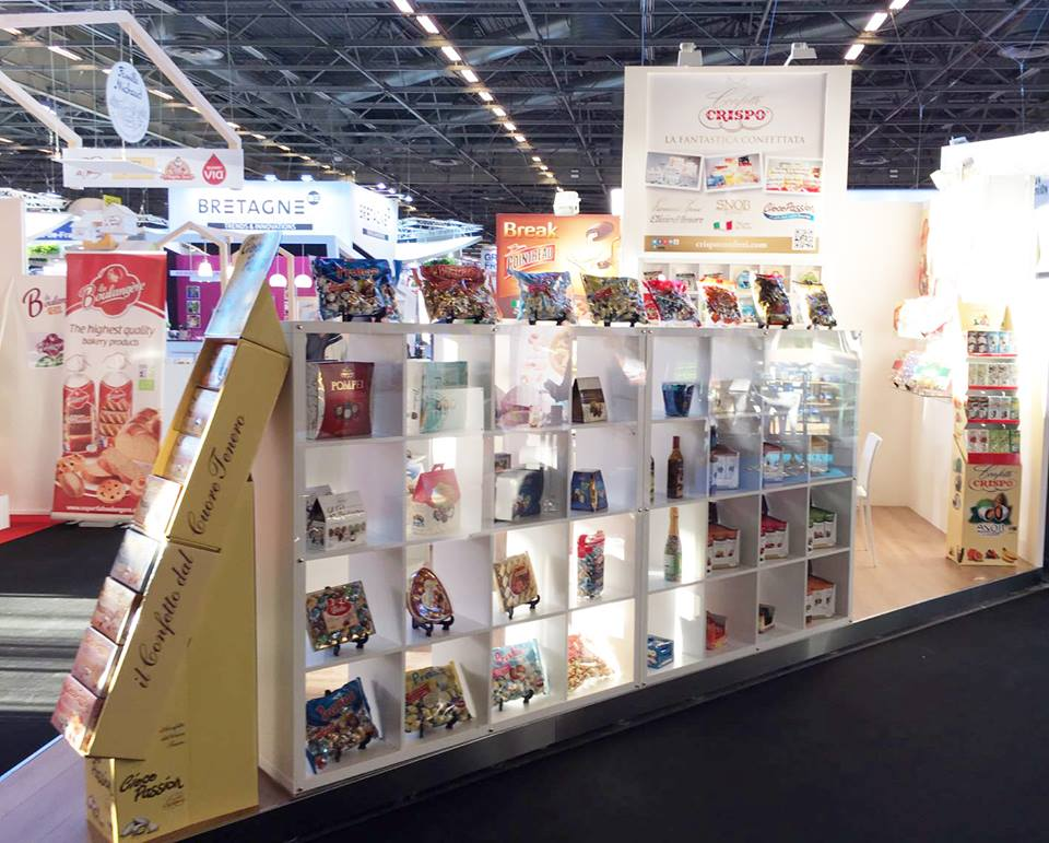 Confetti Crispo at the SIAL fair 2016 in Paris