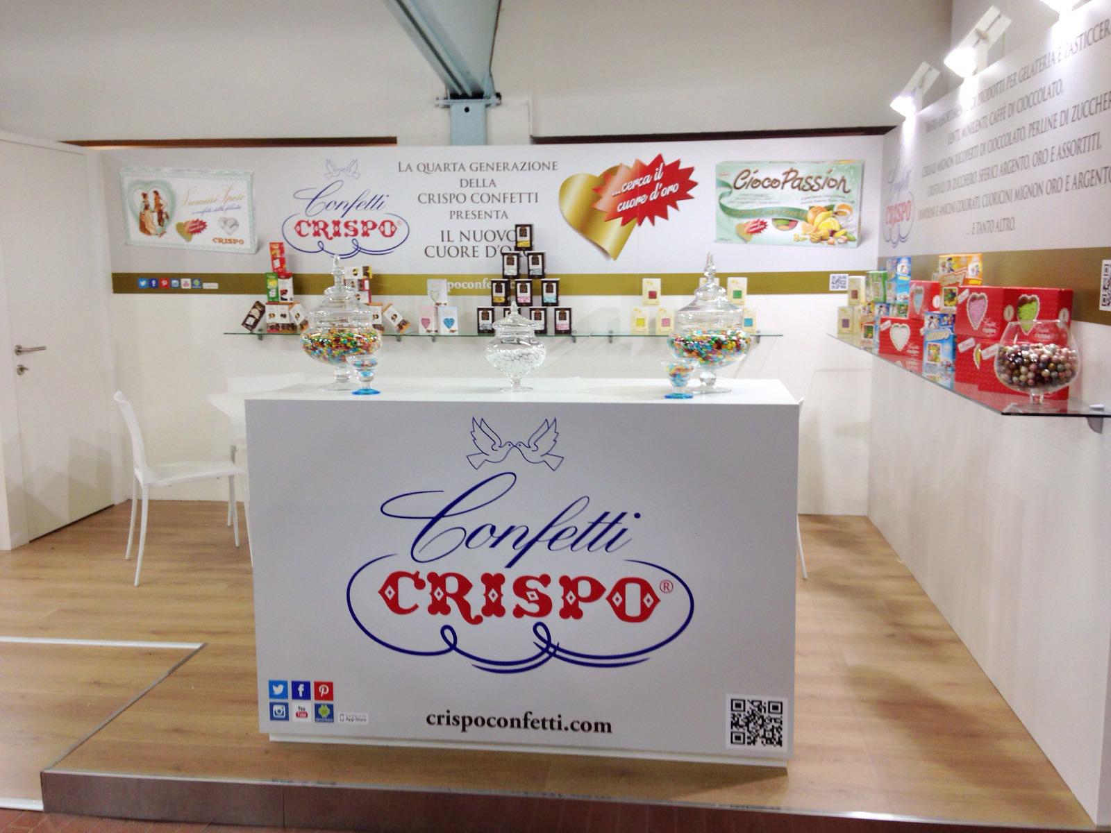 Confetti Crispo takes part to Mostra Internazionale del Gelato Artigianale