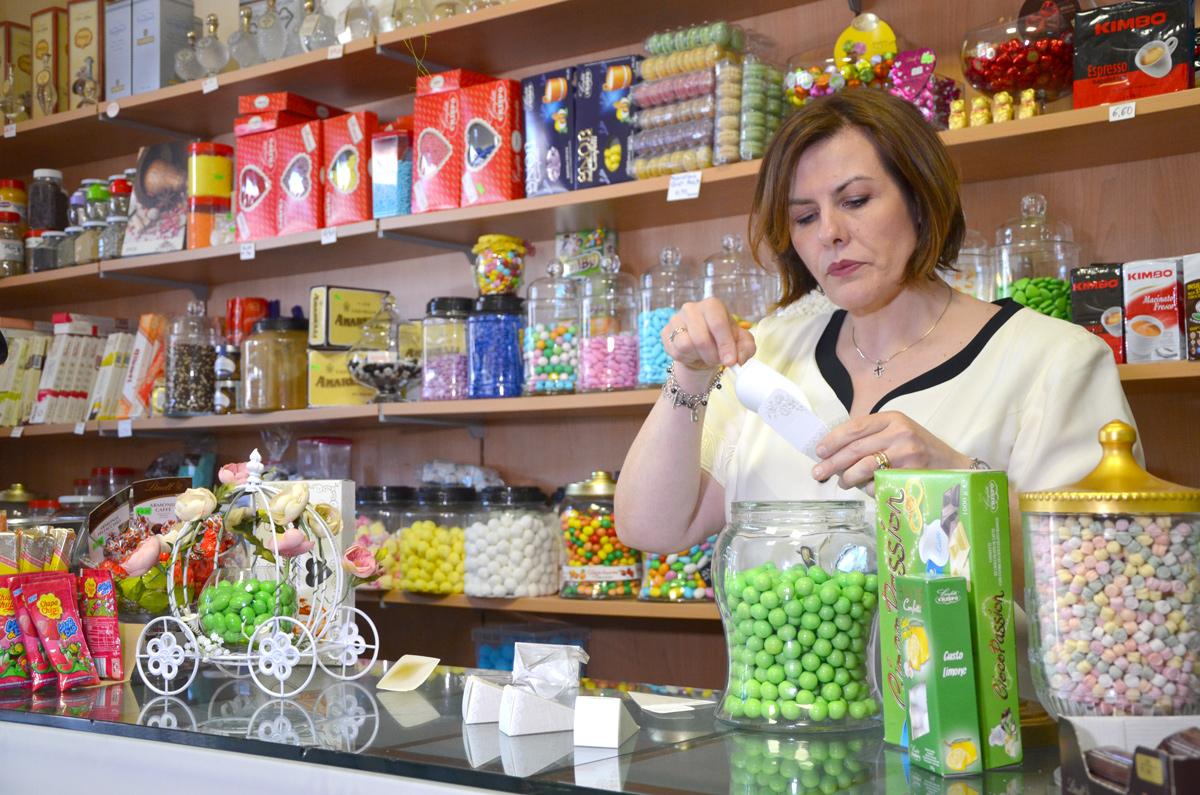 Intervista ad Annamaria Brogna, rivenditore autorizzato Confetti Crispo di Atripalda (AV)