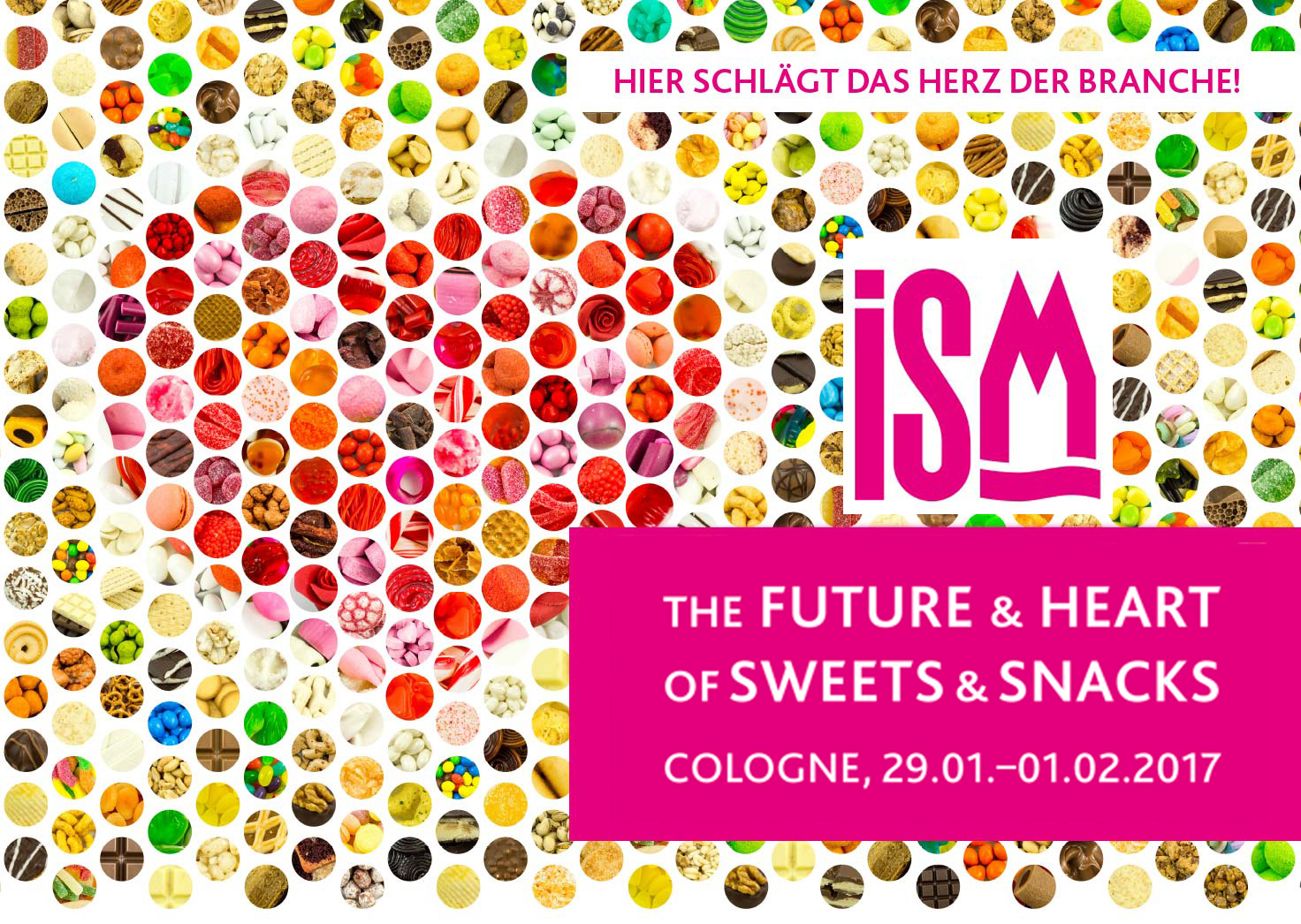 Confetti Crispo takes part to trade fair ISM 2017 in Cologne