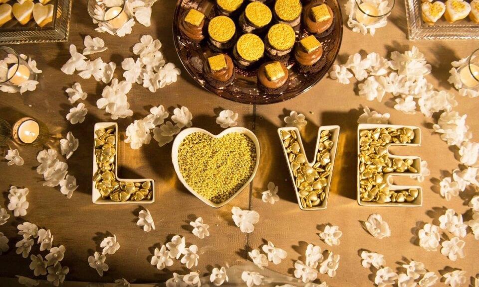 Confetti oro per matrimonio White e Gold: Dona un tocco prezioso alla tua confettata!