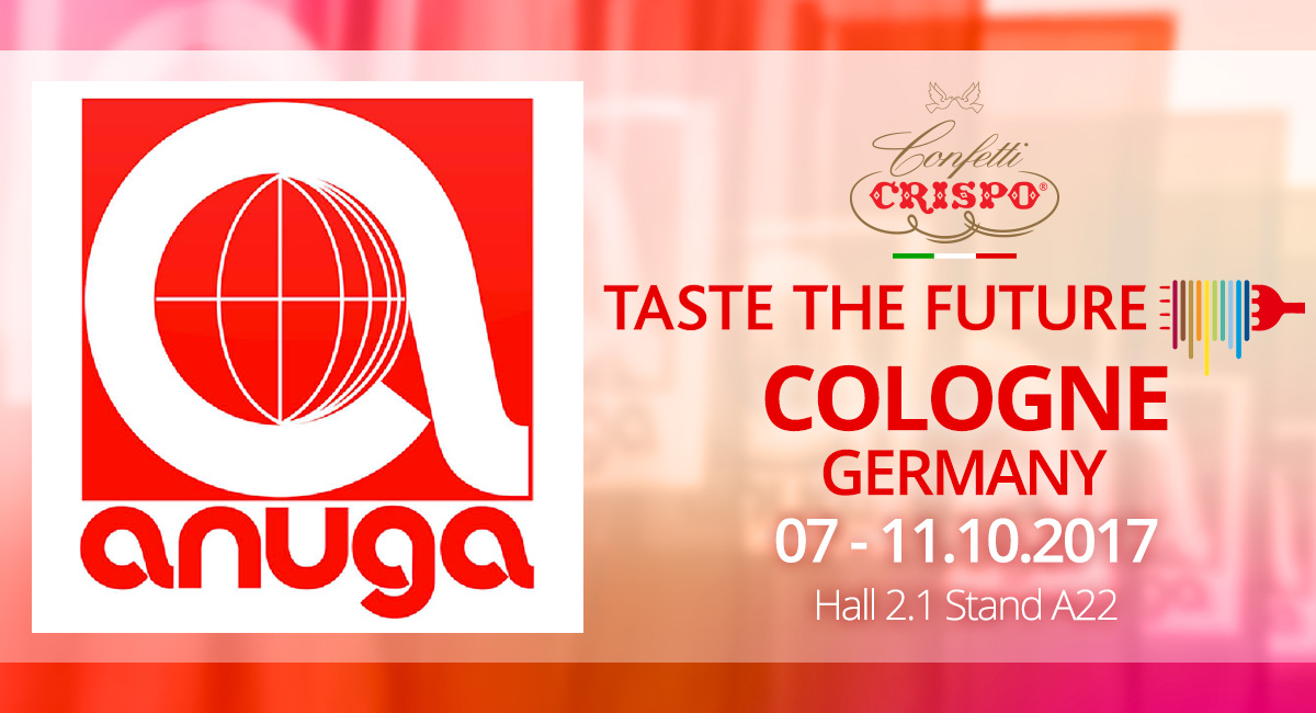 Anuga 2017: Confetti Crispo participates in the trade fair based in Cologne