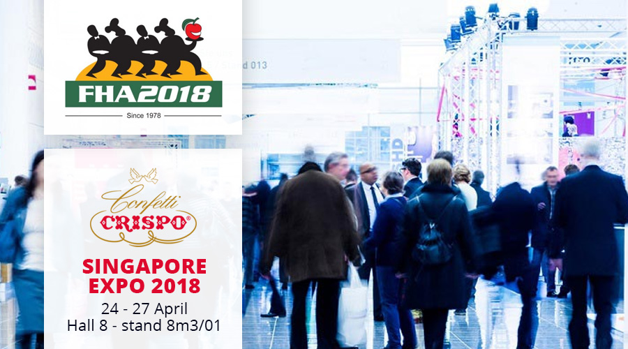 Confetti Crispo at FHA – Singapore Expo 2018