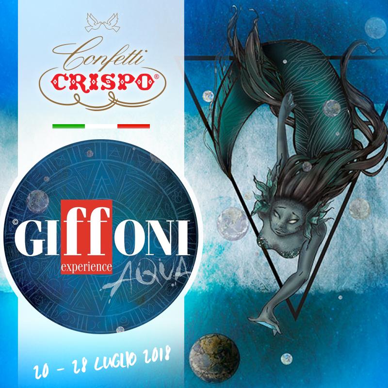 Confetti Crispo al Giffoni Film Festival 2018