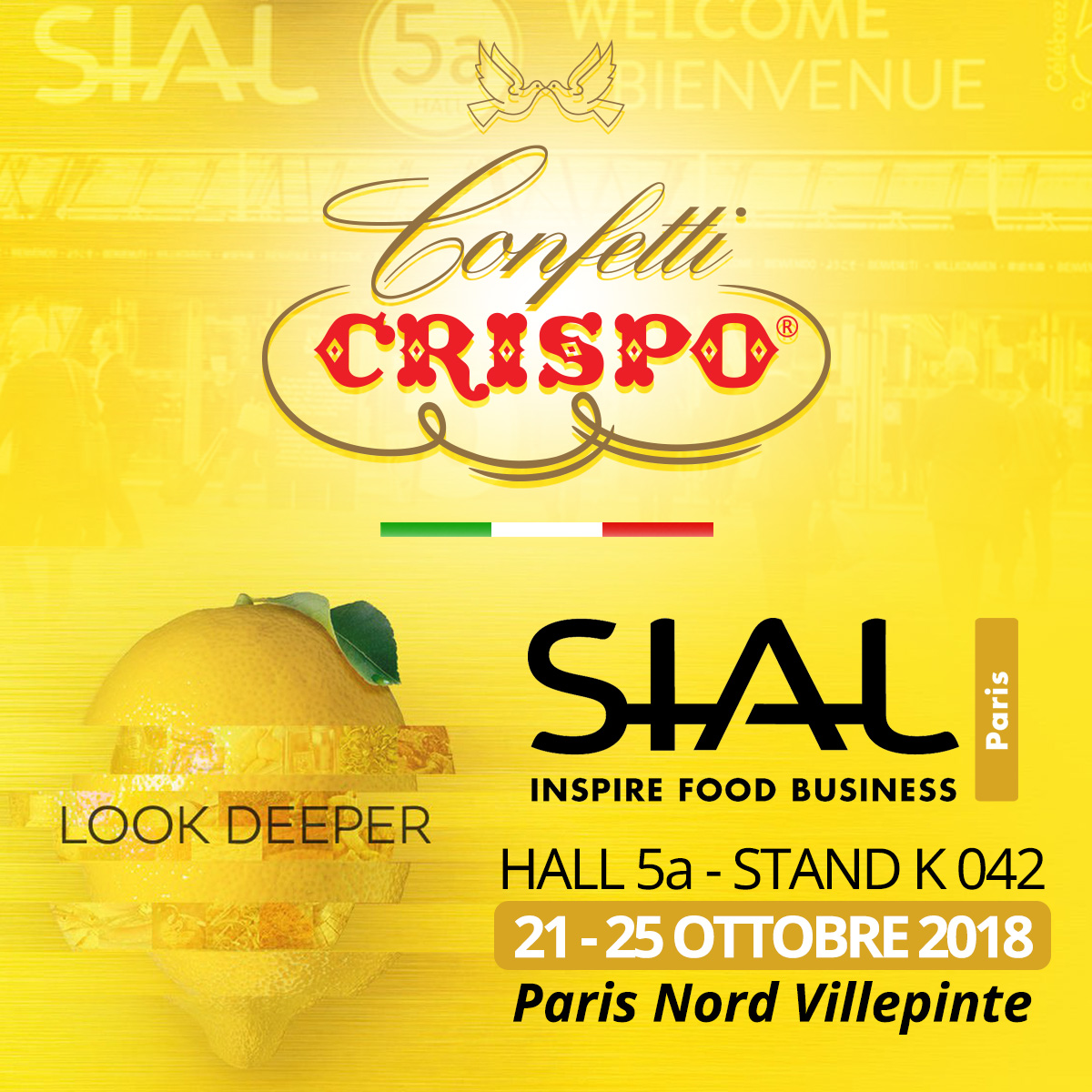 Confetti Crispo at SIAL Paris