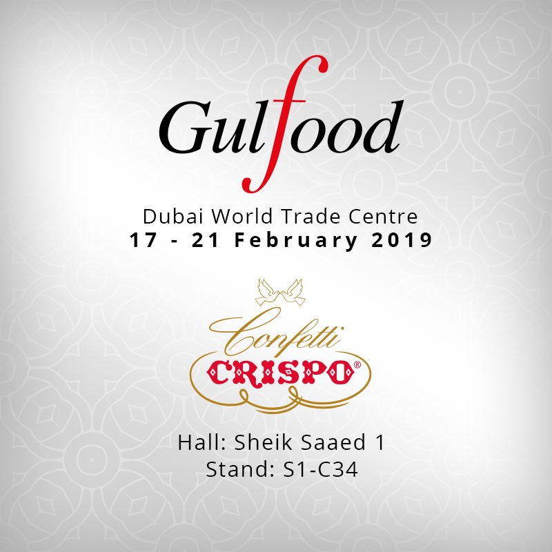 Gulfood 2019: Confetti Crispo flies to Dubai