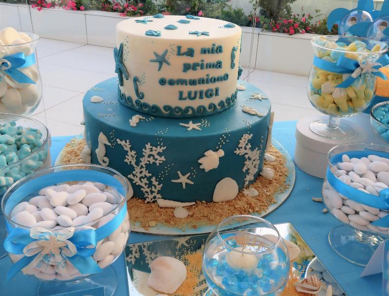 Confettata azzurra a tema mare, un must per il tuo evento estivo