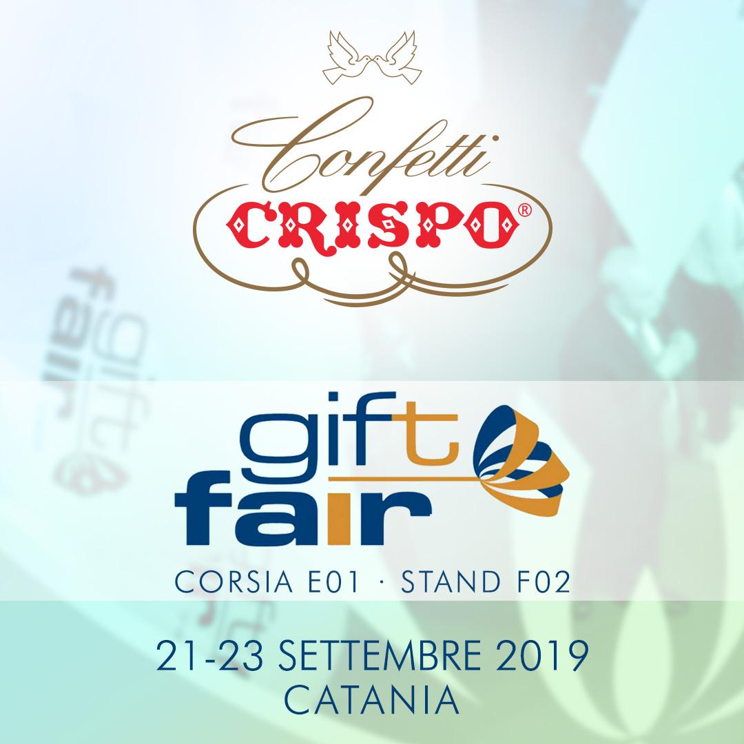 Confetti Crispo a Catania per il Gift Fair 2019