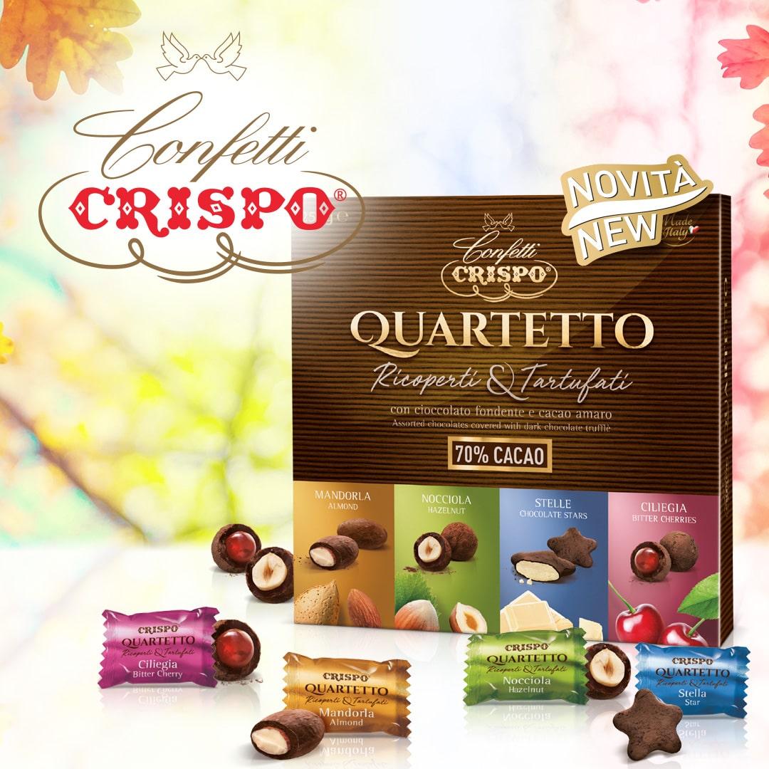 Sei un amante dei tartufini al cioccolato? Scopri i nuovi tartufati Crispo