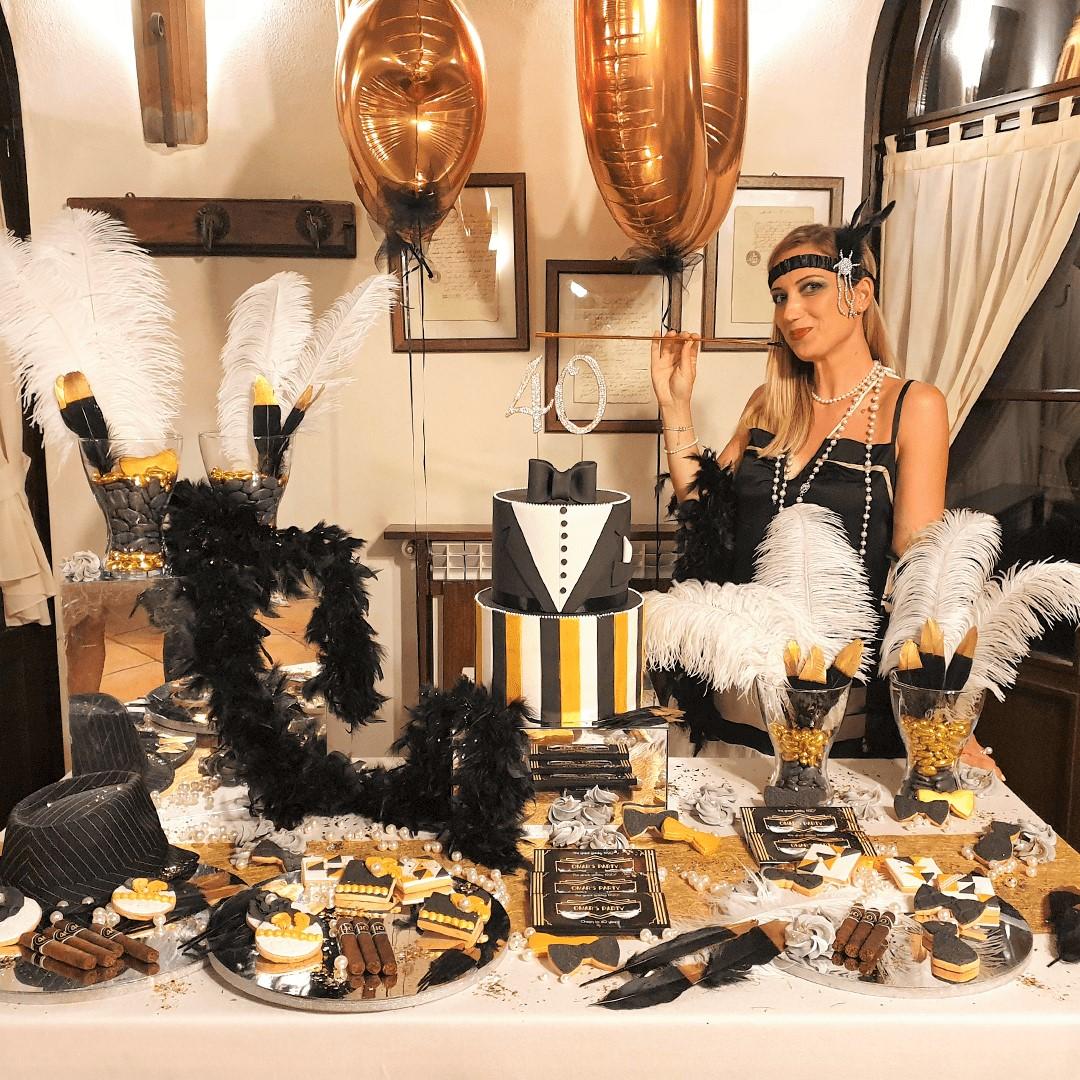 Festa a tema Grande Gatsby: lo stile anni 20 per lo swing party