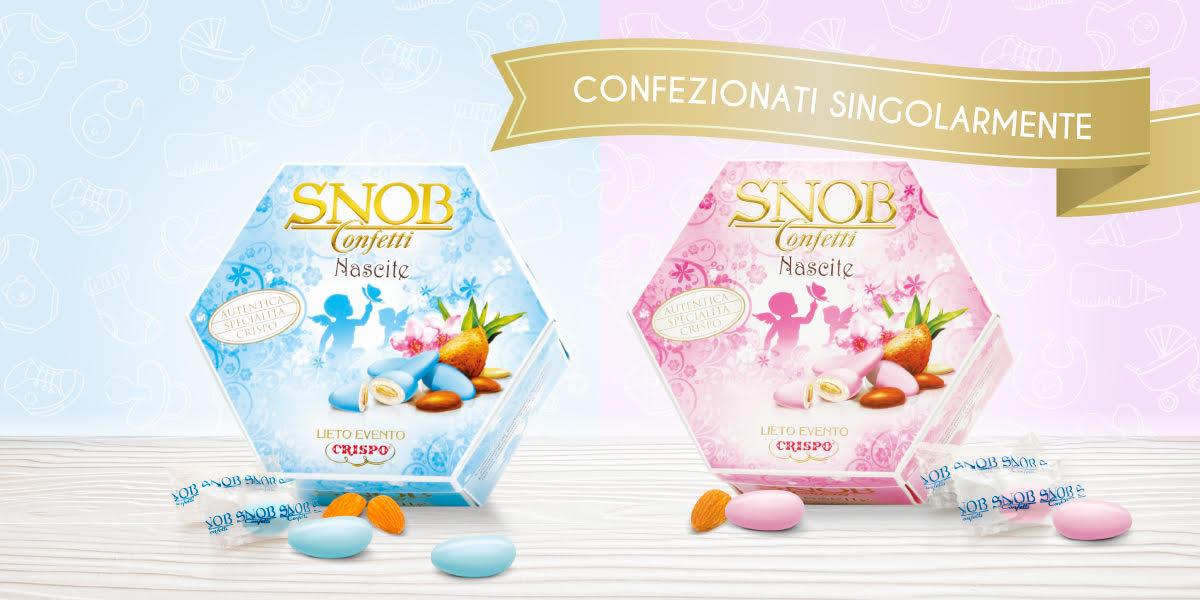 Confetti nascita confezionati singolarmente