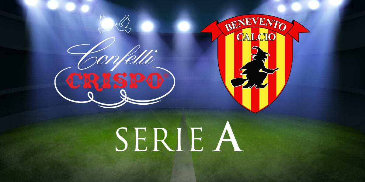 Confetti Crispo for Benevento Club Serie A
