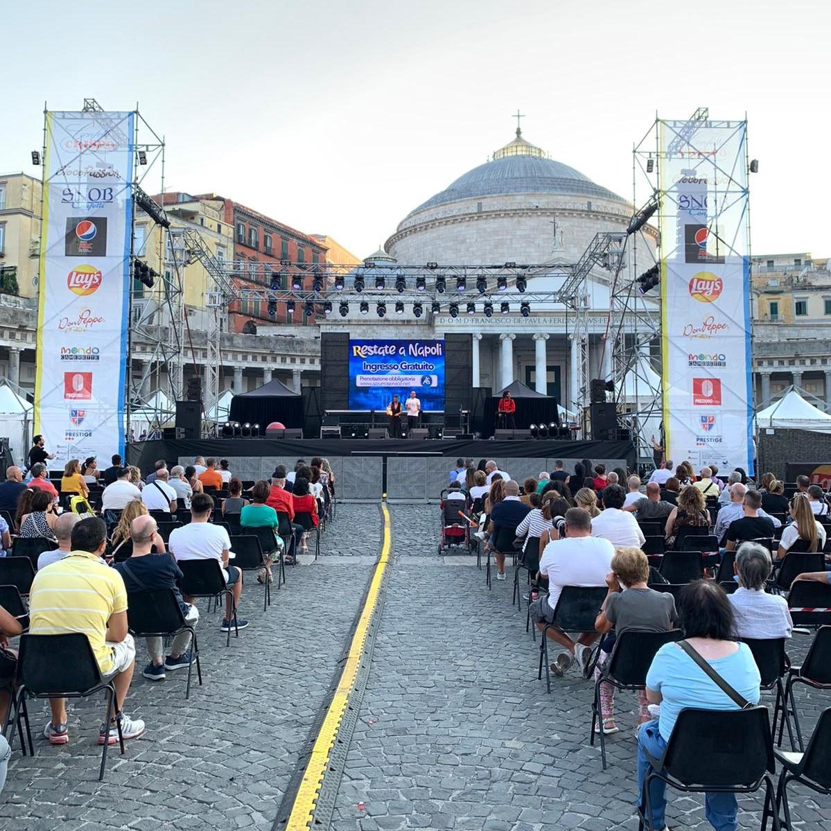 Confetti Crispo per l'evento Restate a Napoli