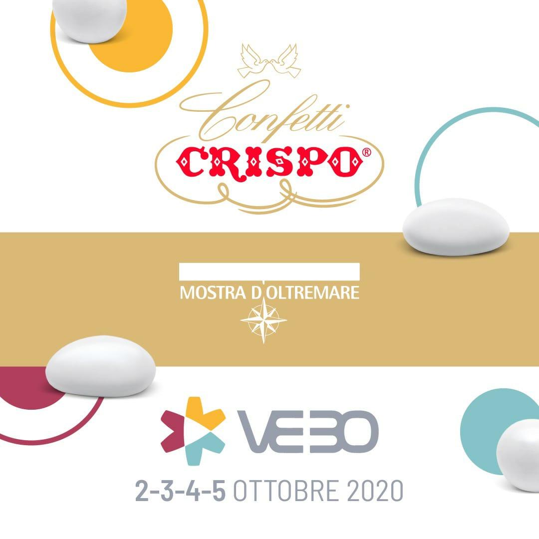 CONFETTI CRISPO ALLA FIERA VEBO 2020